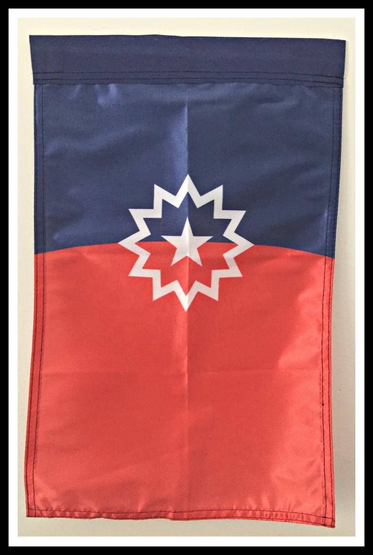 colorsbind juneteenth flag